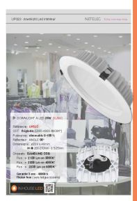 Downlight UP023